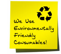Environmentally Friendly Consumables